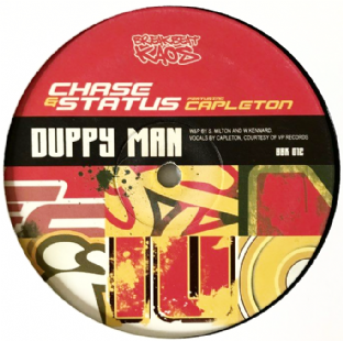 "Chase & Status ‎- Duppy Man/Top Shotta (12"") (G/NM)"